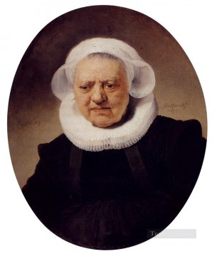 Portrait Of An Eighty Three Year Old Woman Rembrandt Oil Paintings